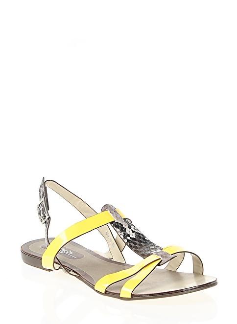 İnci Sandalet Sarı